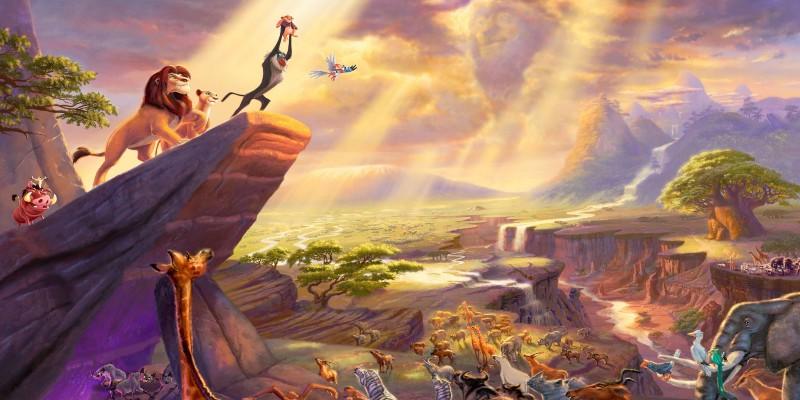 игра головоломка найди 10+ отличий на картинке из Король Лев