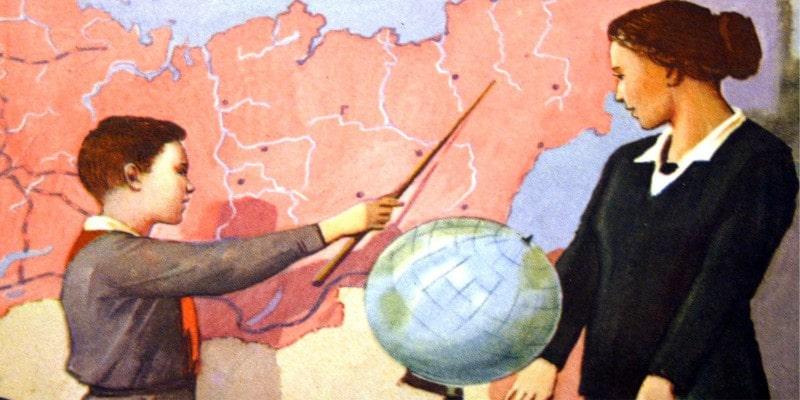 тест географический - столицы СССР